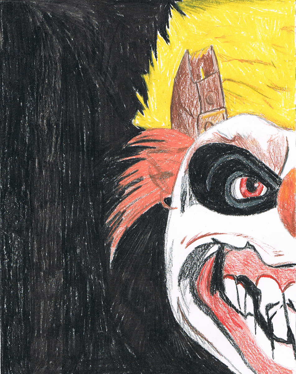 Twisted Metal Clown by Goldenlight