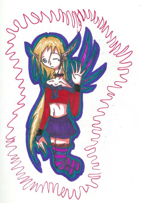 *Aha aha aha *Dies!* FARIE! by GothBlackAngel