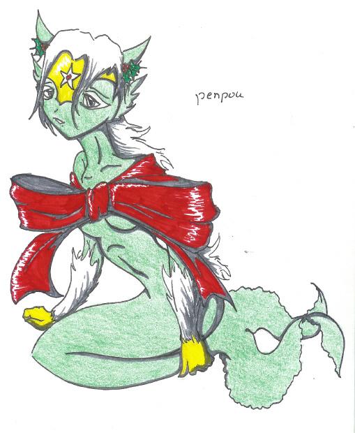 *my peophin by GothBlackAngel