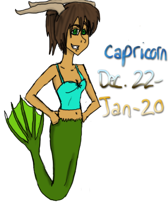 Capricorn by GreatCheezyPoofGirl