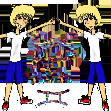 Gemini by GreatCheezyPoofGirl
