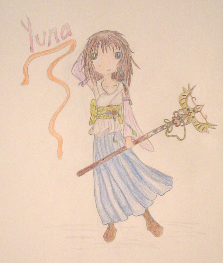Yuna-Request for BlackPaint by GreenPaint