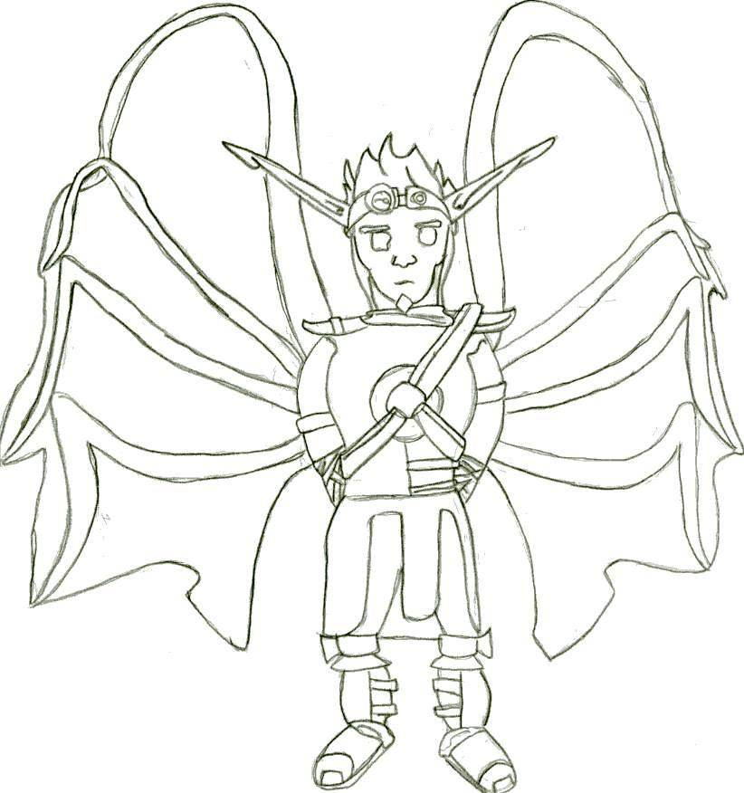 Wing Boy by GreyJedi