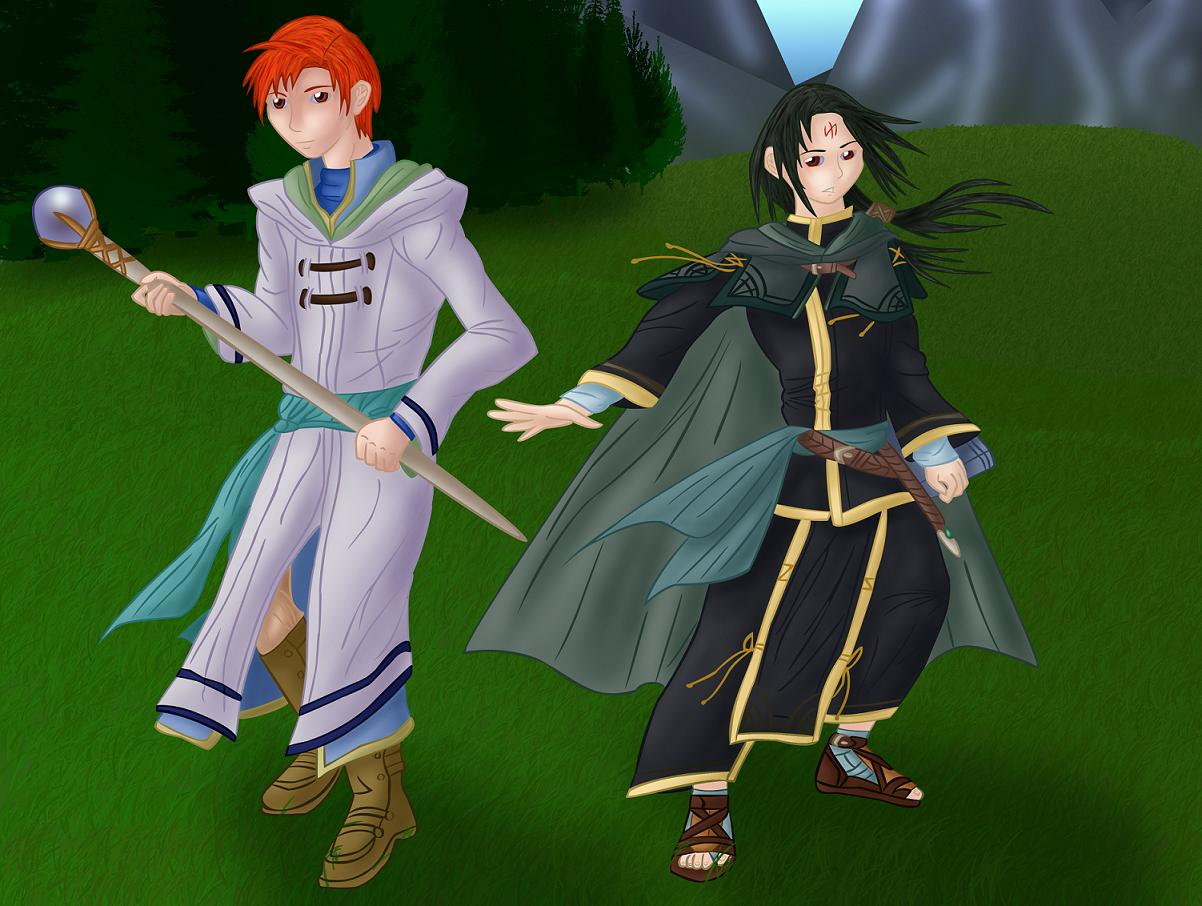 Rhys and Soren by GreyJedi