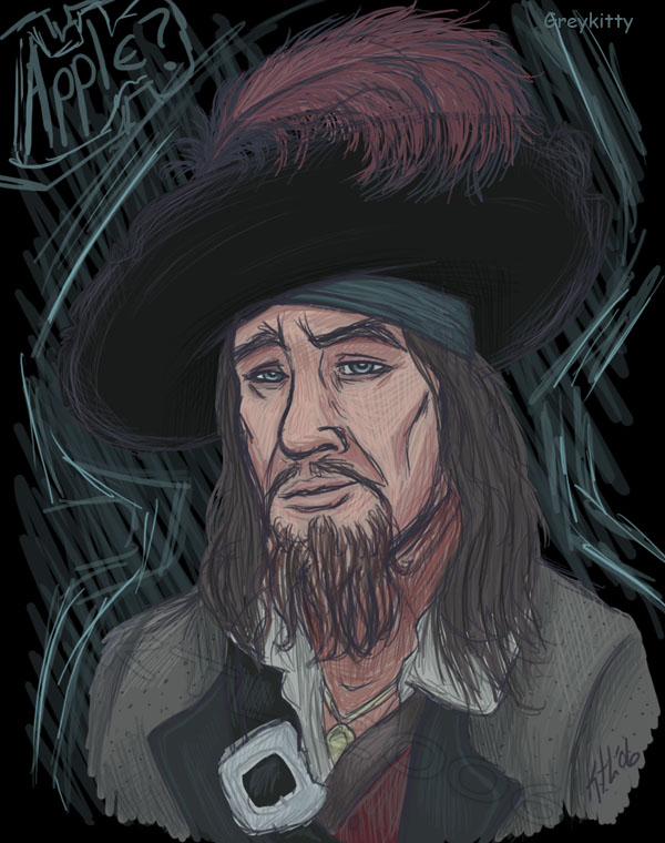 Barbossa by Greykitty