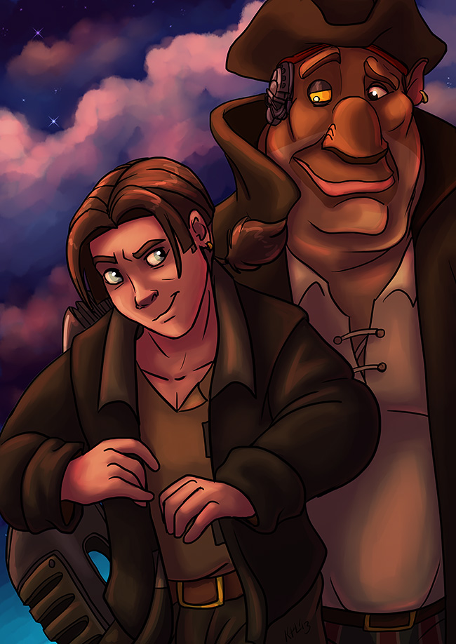 Treasure Planet by Greykitty