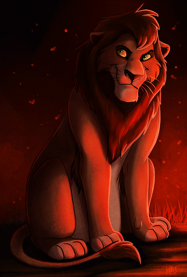 Kovu by Greykitty