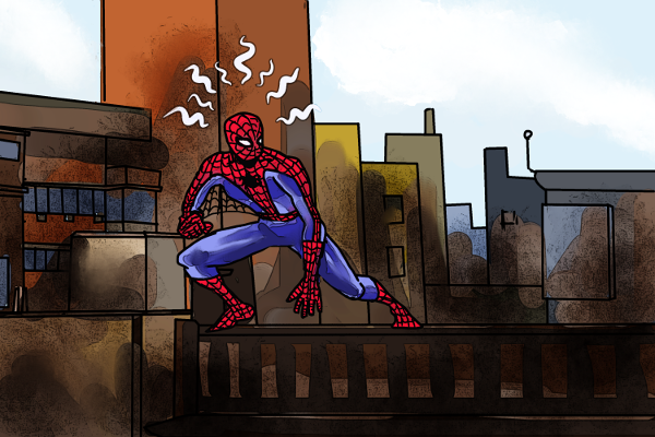 Spidey by Grok
