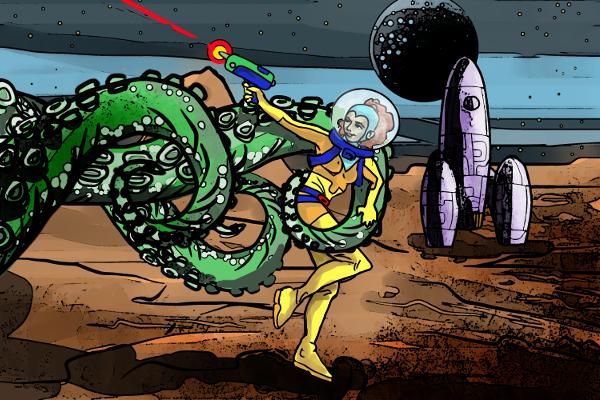 Bubbles, Space Explorer by Grok