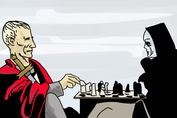 Playing Chess with Death by Grok