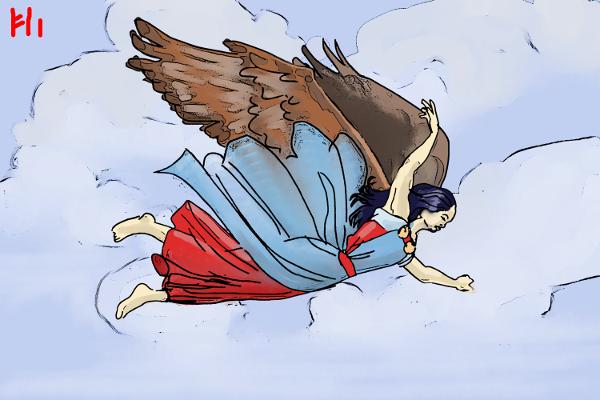 Falcon Cloak by Grok