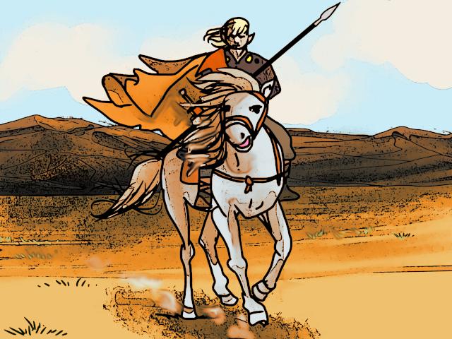 Desert Rider by Grok