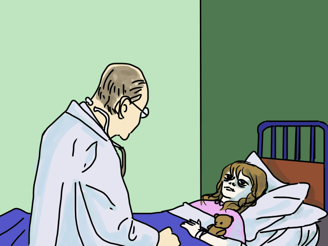 in the hospital by Grok