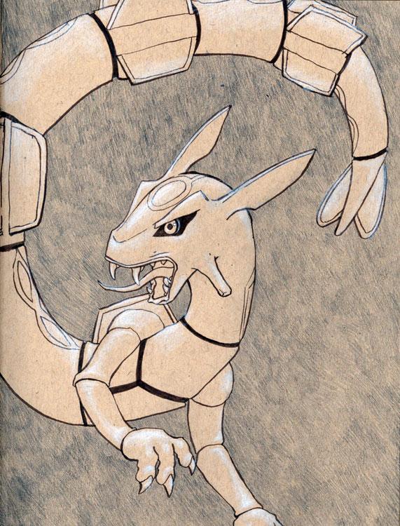 Rayquaza by GrowlyBear
