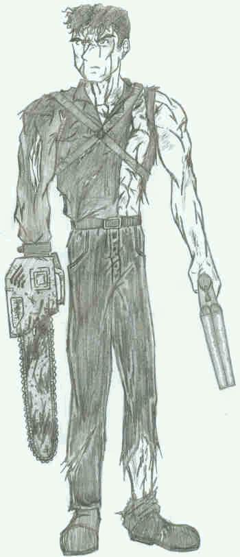 Evil Dead 2 Ash by gaetano125