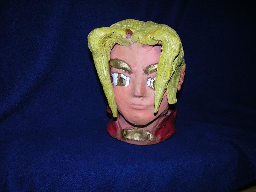 Edward head sculpture (front) by gamefox120