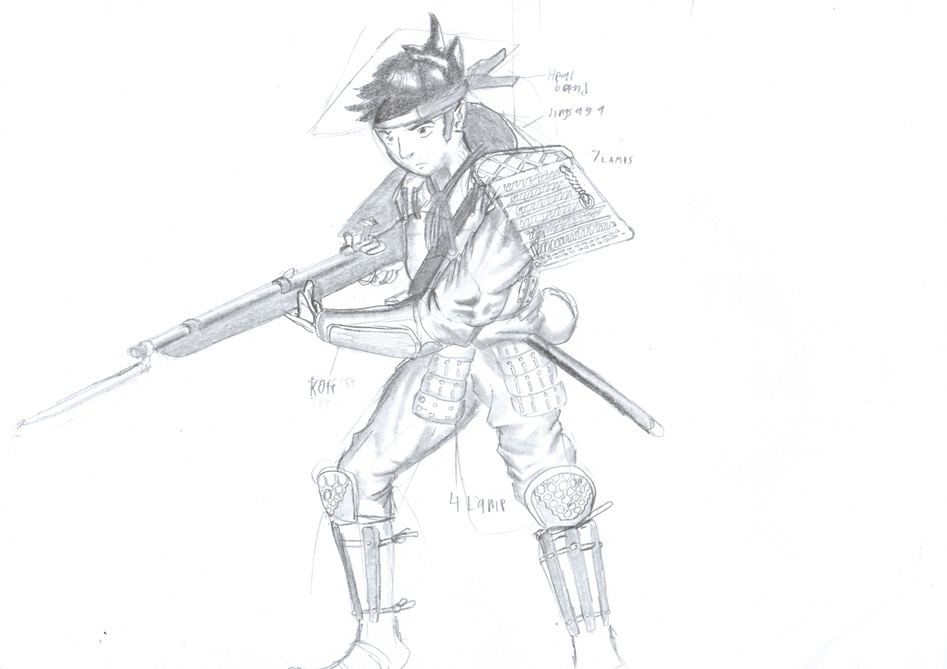 ashigaru concept 2 by gamefox120