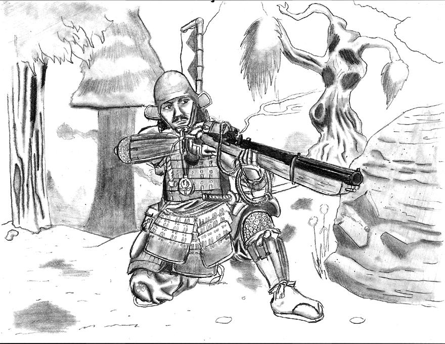 ashigaru by gamefox120