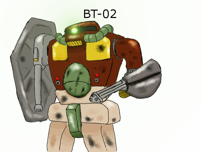 "BT-02 ""Big bear"" by gamefox120"