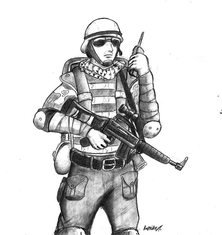 Mercenary by gamefox120