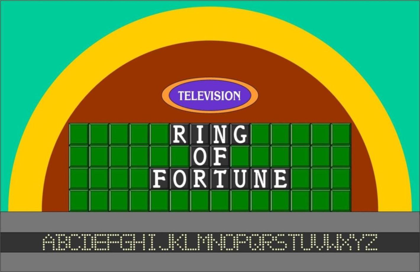 Ring of Fortune Puzzle Board by germanname