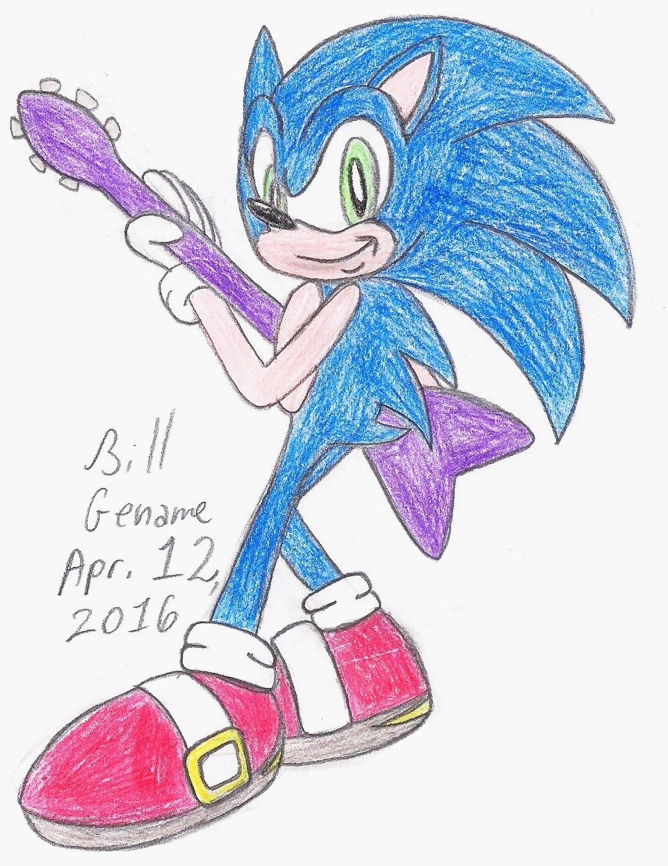 Sonic Rocks On by germanname