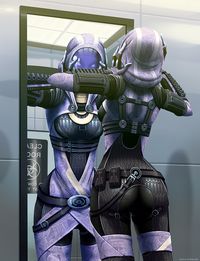 Tali's Reflection by ghostfire