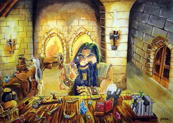 dwarf who make jewels by gillian