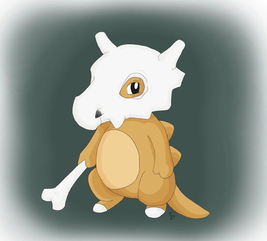 Cubone by gillustrations