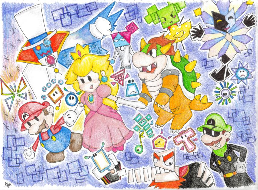 Super Paper Mario Wii by gillustrations