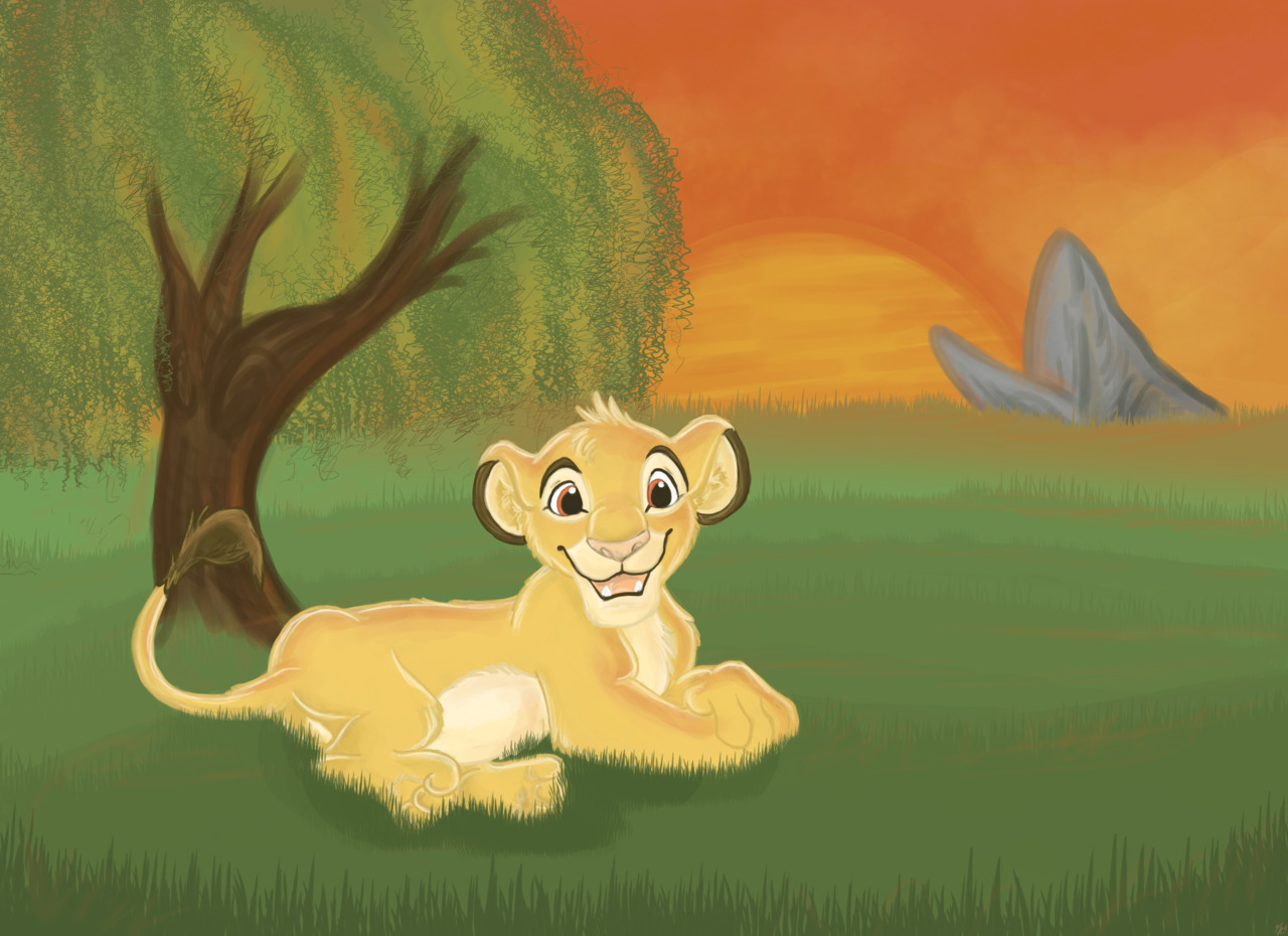 Simba by gillustrations