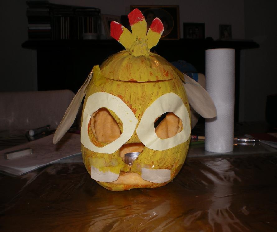 Experiment 625 Reuben Pumpkin by ginathehedgehog