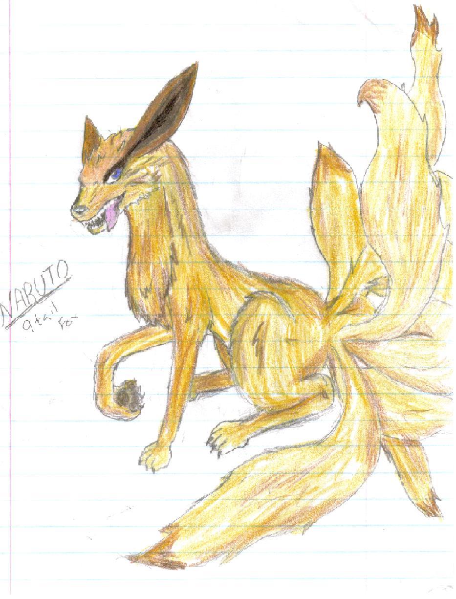 Nine Taild Fox by gohstann