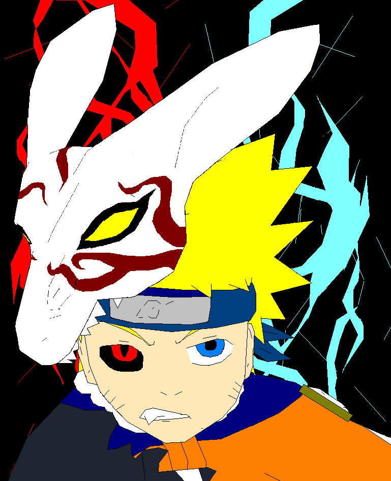 hollow Naruto by gohstann