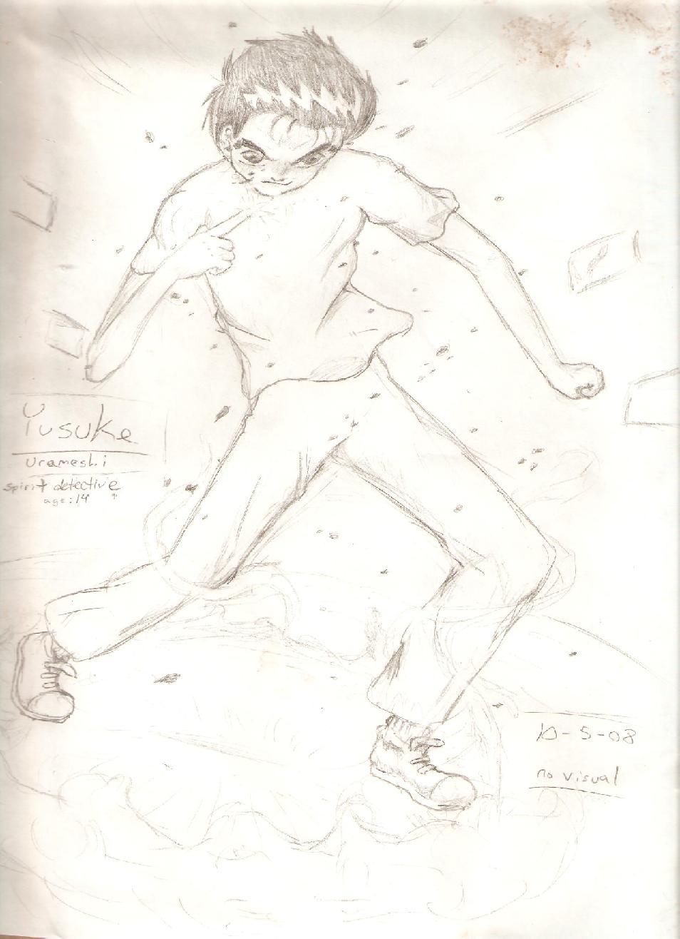 Yusuke by gohstann