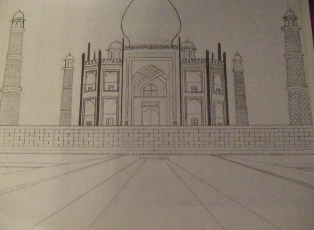 Taj Mahal by goshnoxo