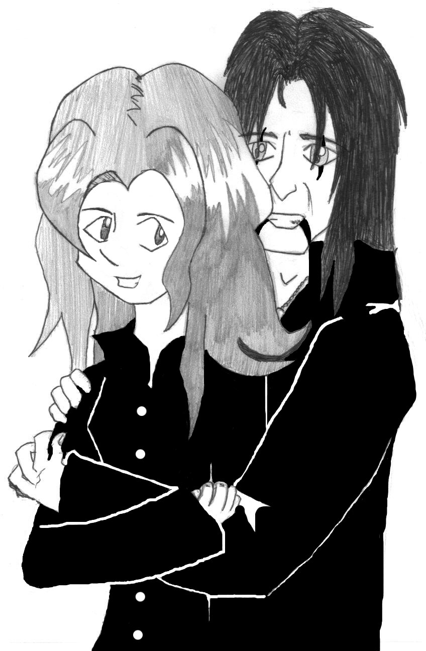 Rei and Alice Cooper (for Sexy_Bishi_Queen) by goth_revolution