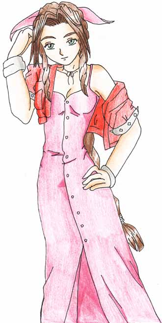 Aerith Gainsborough by gothicrinoa