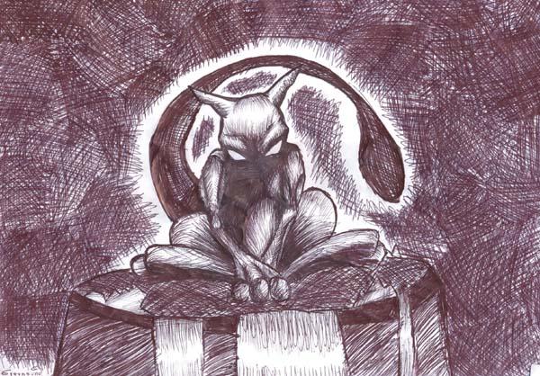 Mewtwo's birth by greyhound