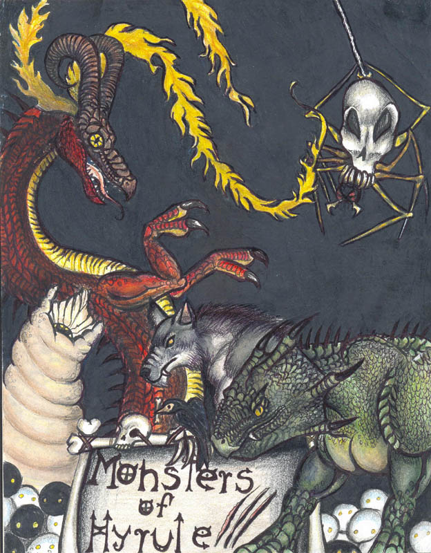 Here be Monsters by greyhound