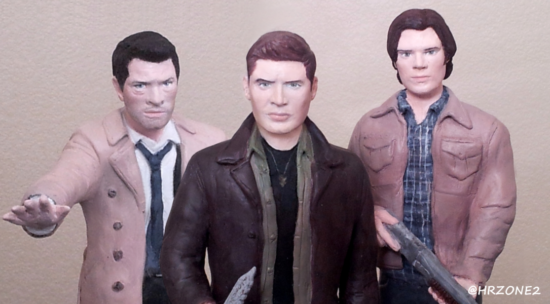 My Custom Supernatural Statues by HRZONE2