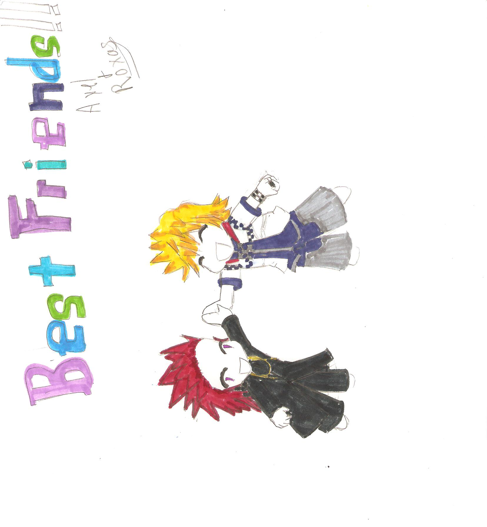Request for onlyahalfbreed: Axel and Roxas by Hachi10120