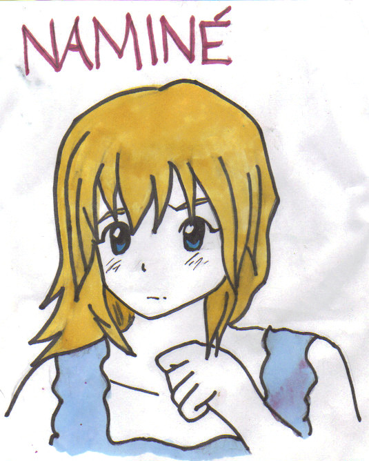 Namine by HaileyAndAlphonseElric