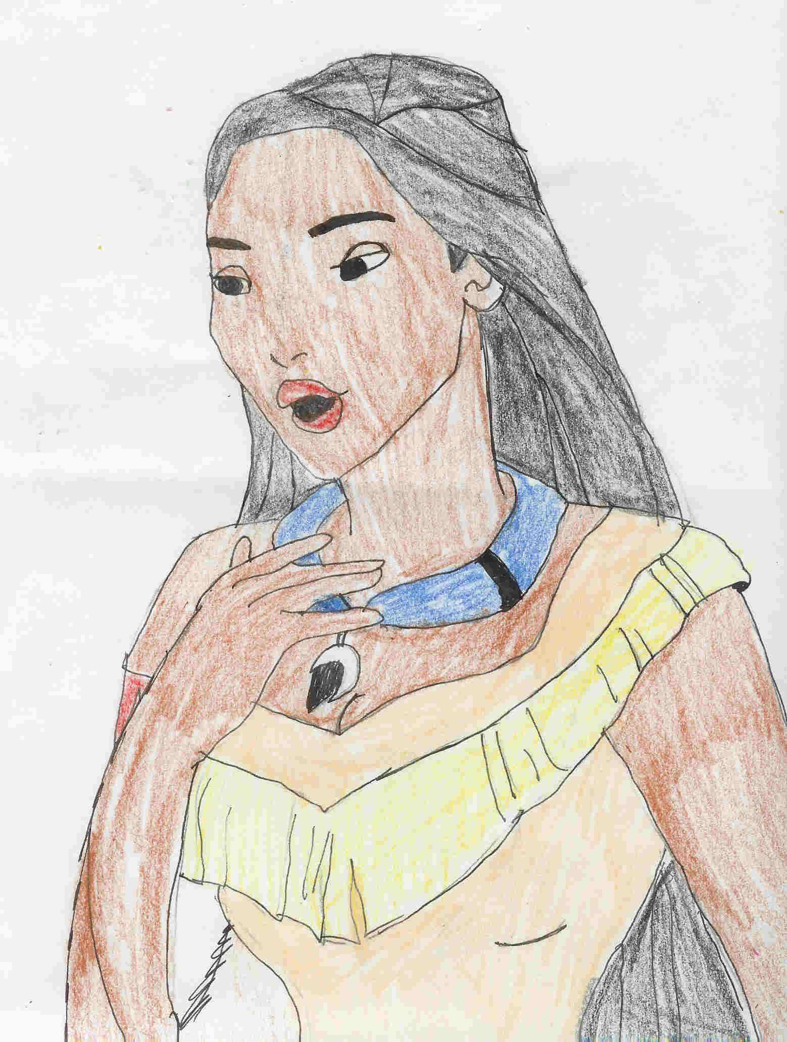 Pocahontas by Hawaiiancat