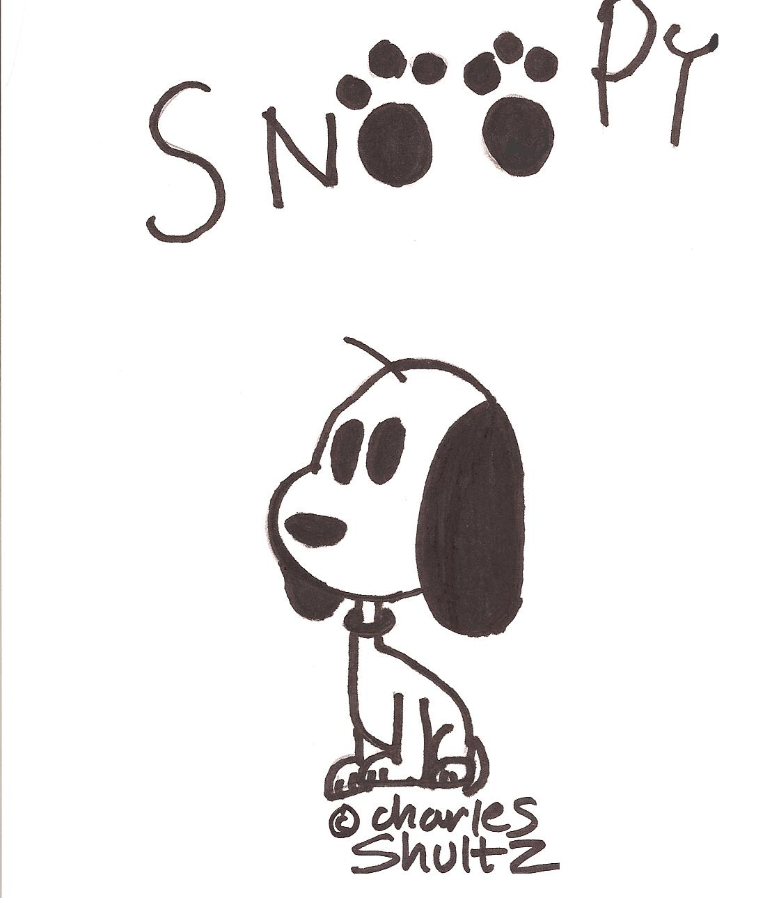 Snoopy by Hawiian_Tiger