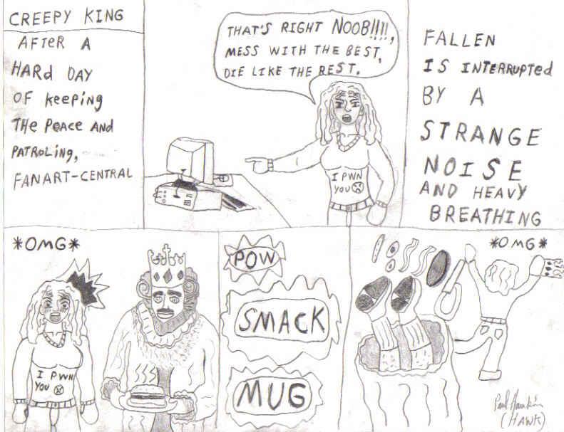 Creepy King by Hawk4444