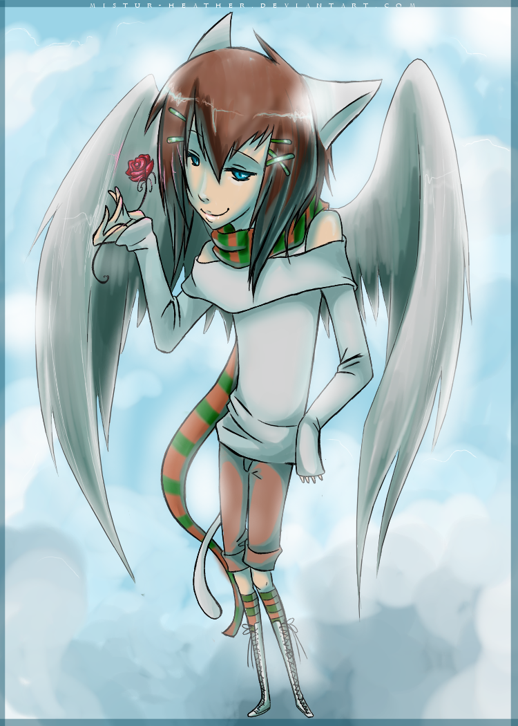 Pretty Yuki *final half of art-trade with YuffietheSwift* by Heathere