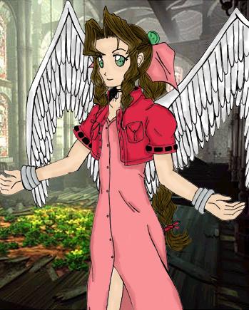 Aeris Gainsborough ~ Midgar's Angel by Heero_Masaki