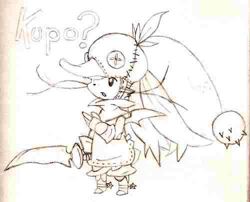 Kupo? by HeroOfZeros