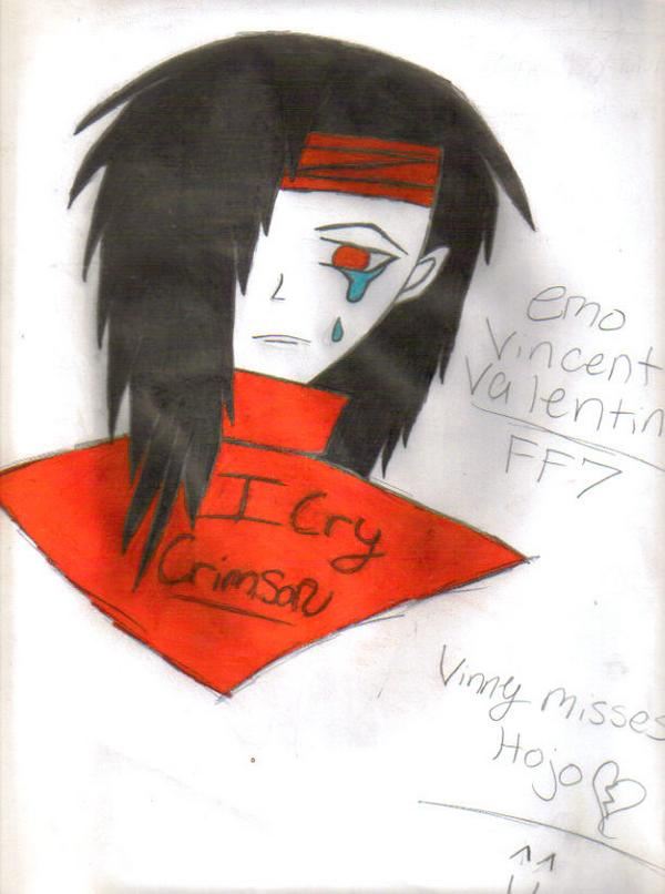 Vincent Valentine by HieiMyHubby90